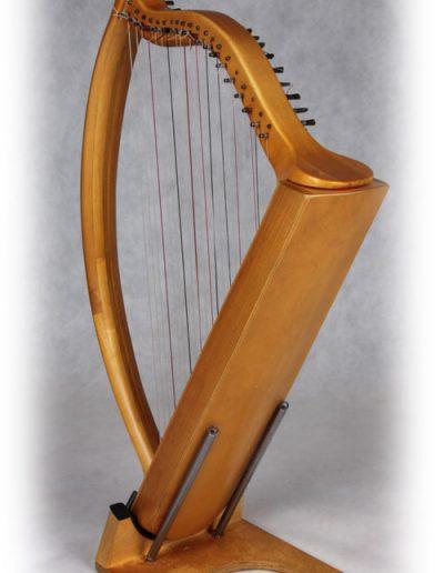 Arpa doble aragonesa. Double Aragón harp 4