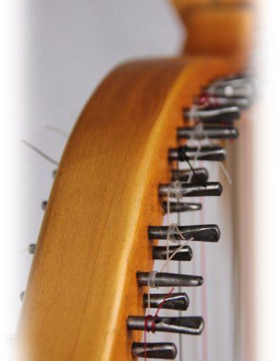 Arpa doble aragonesa. Double Aragón harp 2