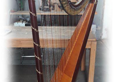 Empire Erard harp restoration