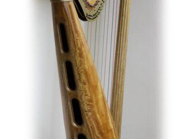 Louis XVI Erard harp restored 1