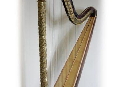 Ghotic Erard Harp restored