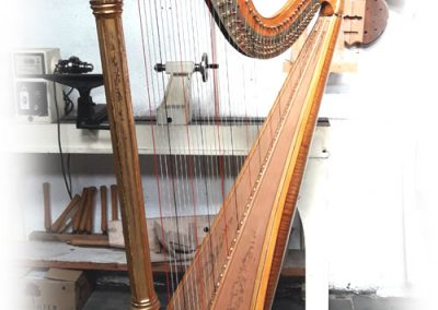 Lyon and healy harp style 22 restored