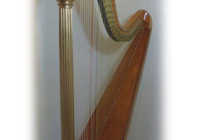 Wurlitzer harp restored