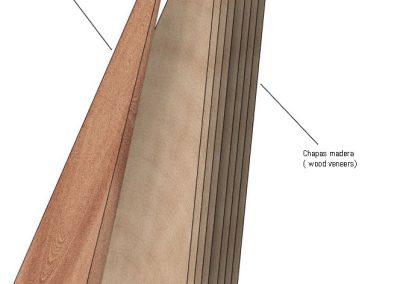 The body harp. Método laminado 0