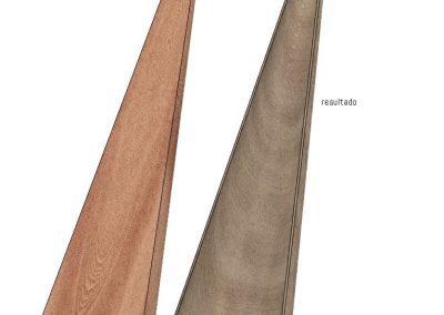 The body harp. Método laminado resultado