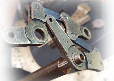 Repair mechanism parts pedal harp