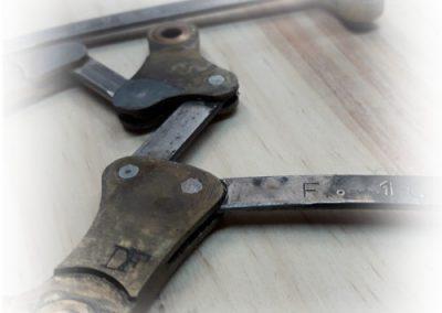 Repair mechanism parts pedal harp 4