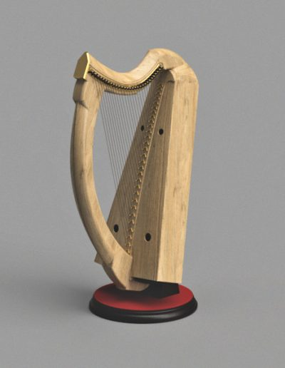 The queen Mary harp version