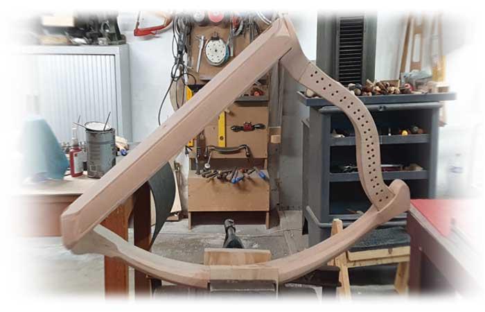 Arpa doble aragonesa. Double Aragón harp